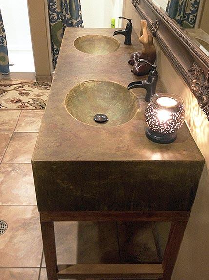 Modern Concrete Omaha Sinks